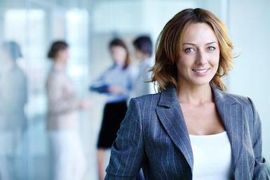 Image of business woman