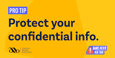 Protect confidential info